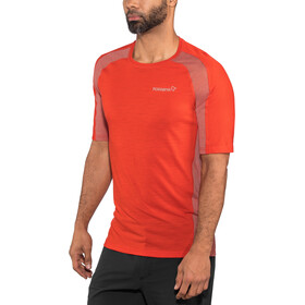 Norrøna Bitihorn Wool T-Shirt Herren tasty red